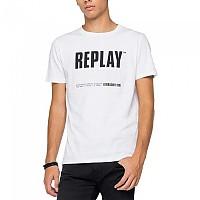 [해외]리플레이 M3413.000.22880.001 T-Shirt 137931131 White
