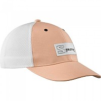 [해외]살로몬 Trucker Curved 4137916320 Almond Cream / White