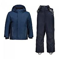 [해외]CMP Kid Set Jacket+Pant 5137780006 Blue Ink
