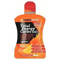 [해외]NAMED SPORT Total Energy Carbo 40ml x 24 Gels 3137913230 Orange