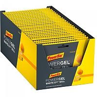 [해외]파워바 PowerGel Shots 60gr x 24 Units 3137950906 Black / Yellow