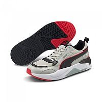 [해외]푸마 X-Ray 2 Square Man137919967 Gray Violet / Puma Black / High Risk Red / Quarry