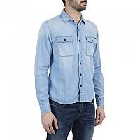 [해외]리플레이 M4033 Shirt Light Blue