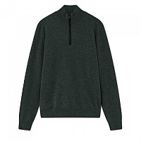 [해외]HACKETT Mayfair Cashmere Half Zip Forest Green