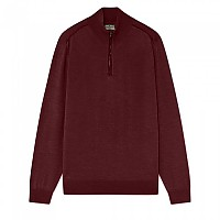 [해외]HACKETT Mayfair Saville Row Half Zip Burgundy