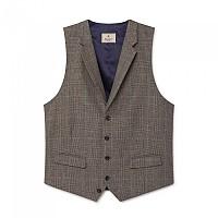 [해외]HACKETT Mayfair Brown Pow Flannel Waistcoat Brown / Green