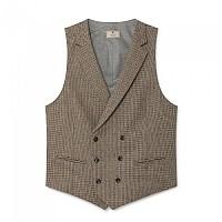 [해외]HACKETT Mayfair Wl Brown Ptooth Waistcoat Multi Brown