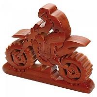 [해외]BOOSTER Dirt Bike Motorcycle Wood Puzzle 9137888976 Brown