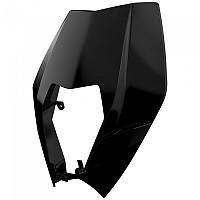 [해외]POLISPORT Headlight Mask KTM EXC/EXC-F/XC-W/XCF-W 08-13 9137857482 Black