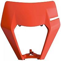 [해외]POLISPORT Headlight Mask KTM EXC/EXC-F/XC-W/XCF-W 17-19 9137857485 Orange Flo