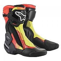[해외]알파인스타 SMX Plus V2 9137823288 Black / Red Fluo / Yellow Fluo / Grey
