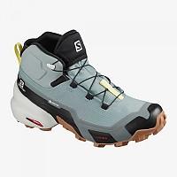 [해외]살로몬 Cross Hike Mid Goretex 4137918660 Lead / Stormy Weather / Charlock
