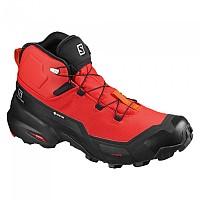 [해외]살로몬 Cross Hike Mid Goretex 4137918658 Goji Berry / Black / Red Orange