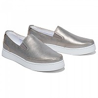 [해외]팀버랜드 Atlanta Green Leather Slip On Pewter Snowstorm