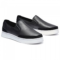 [해외]팀버랜드 Atlanta Green Leather Slip On Jet Black