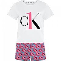 [해외]캘빈클라인 언더웨어 Short Set Prosper Floral Print / Pink Smoothie