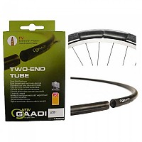 [해외]MITAS Two-End Schrader 40 mm 1137960401 Black