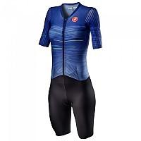 [해외]카스텔리 PR Speed Short Sleeve Trisuit 1137972520 Lapis Blue