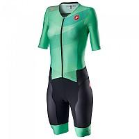 [해외]카스텔리 Sanremo 2 Short Sleeve Trisuit 1137972521 Multicolour / Jade Green