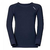 [해외]오들로 Shirt L/S Crew Neck Warm Kids 5670402 Navy New