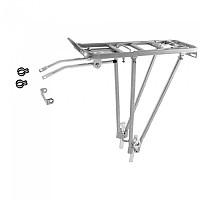 [해외]M-WAVE Screw On II Adjustable Pannier Rack 1137642072 Silver