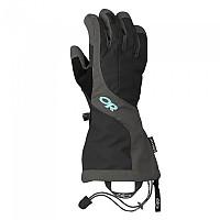 [해외]아웃도어 리서치 Arete Gloves 4137196637 Black / Charcoal