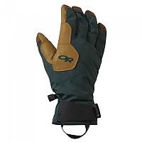 [해외]아웃도어 리서치 Bitterblaze Aerogel Goretex Gloves 4137773676 Fir / Natural