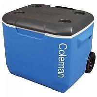 [해외]콜맨 Rigid Cooler With Wheels 56L 4137947683 Black / Blue
