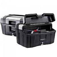 [해외]GIVI Trekker 46 Side Cases Set 9138000137 Black / Anodized Aluminium