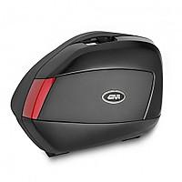 [해외]GIVI V35 Side Cases Set 9138000143 Black / Red