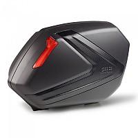 [해외]GIVI V37NN Side Cases Set 9138000146 Black / Red