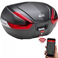 [해외]GIVI V47NN Keyless 2.0 Top Case 9138000155 Black / Red