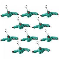 [해외]키플링 Monkey Clip S Key Ring 10 Units Airy Jeans Blue