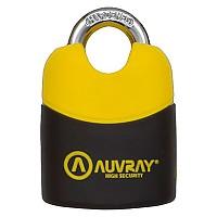 [해외]AUVRAY K-Bloc Padlock 9137614518 Black / Yellow