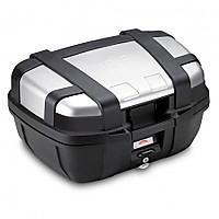[해외]GIVI Trekker 52 Top Case 9138009957 Black / Anodized Aluminium