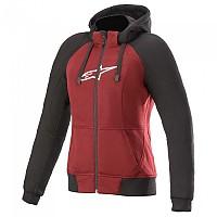 [해외]알파인스타 Stella Chrome Sport Full Zip Sweatshirt 9137786559 Jasper Red / Black / White