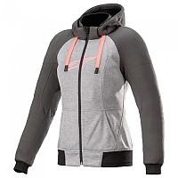 [해외]알파인스타 Stella Chrome Sport Full Zip Sweatshirt 9137786560 Melange Grey Tar / Diva Pink