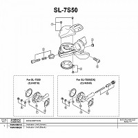 [해외]시마노 SL-7S50 1137974544 Black