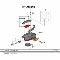 [해외]시마노 ST-M4050 Right 1137974633 Black
