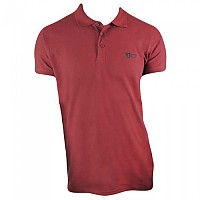 [해외]JEANSTRACK Malmo Short Sleeve Polo Shirt 1138024834 Garnet