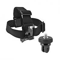 [해외]KSIX Head Harness for GoPro and Sport Cameras 11278753 Black