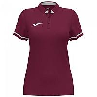 [해외]조마 Championship VI Short Sleeve Polo Shirt 3137977937 Wine / White