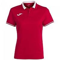 [해외]조마 Championship VI Short Sleeve Polo Shirt 3137977938 Red / White