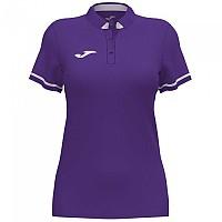 [해외]조마 Championship VI Short Sleeve Polo Shirt 3137977939 Violet / White