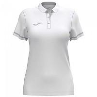 [해외]조마 Championship VI Short Sleeve Polo Shirt 3137977943 White / Grey