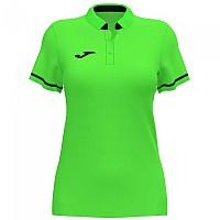 [해외]조마 Championship VI Short Sleeve Polo Shirt 3137977945 Green Fluor / Black
