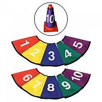 [해외]SOFTEE Numbered Cone Sleeve 10 Units 3137772460 Black