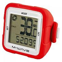 [해외]M-WAVE XIV Silicone Cycling Computer 1137641660 Red