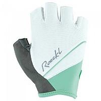 [해외]ROECKL Denice Gloves 1138027459 White / Turquoise