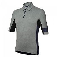 [해외]rh+ E-Bike Short Sleeve Polo Shirt 1137967296 Dark Grey Melange / Absolute Blue